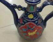 Fine Chinese Antique Ming Dynasty 明代 Famille Rose Porcelain Flowers Plants Teapot