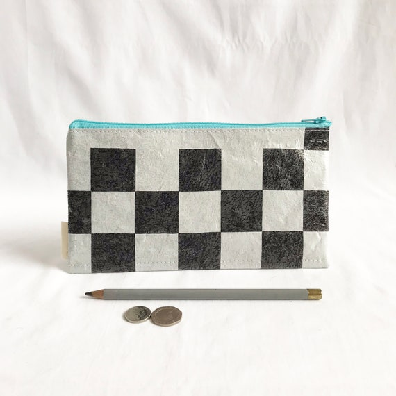 Cuttlefish: MADE TO ORDER - Upcycled Plastic Pencil Case/ Zip Bag