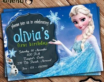 Frozen birthday invitation etsy sale 50 off frozen birthday invitation printable personalized frozen birthday card for girl frozen party frozen celebration filmwisefo