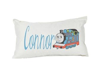 Long Flight Train Kids Pillow Cushion