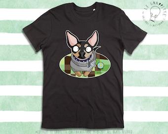 Maglietta Caricatura Cane, Gatto, Animale, Cuccioli. Regalo Per Lui. Regalo Per Fidanzato, Amico, Figlio. T-shirt Cane. Maglie con Stampe.
