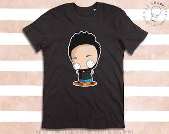 T-shirt Caricatura Uomo. Caricatura Marito, Singola, Familiare, Bambini, Fidanzati. Maglietta con stampa personalizzata.