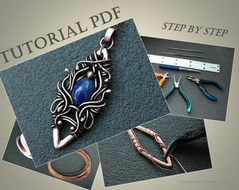 Wire wrap pendant tutorial wire weave tutorial metalwork wire wrap pendant tutorial wire weave tutorial tutorial for wire jewelry wirework tutorial wire soldering tutorial dorasaccessory pdf mozeypictures Choice Image