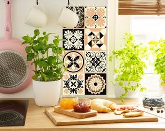 TIVA DESIGN, Romantic Tile/Wall/Stairs Peel and Stick Decal/Sticker. Kitchen, Bathroom, Backsplash, DIY, Vinyl, Wall,  waterproof