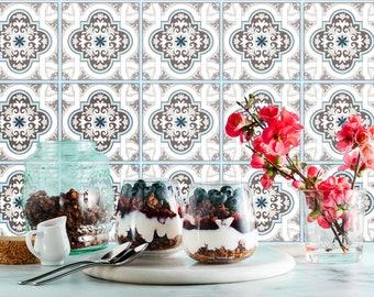 TIVA DESIGN, Toscana Tile/Wall/Stairs Peel and Stick Decal/Sticker. Kitchen, Bathroom, Backsplash, DIY, Cabinet, Vinyl, Wall,  waterproof
