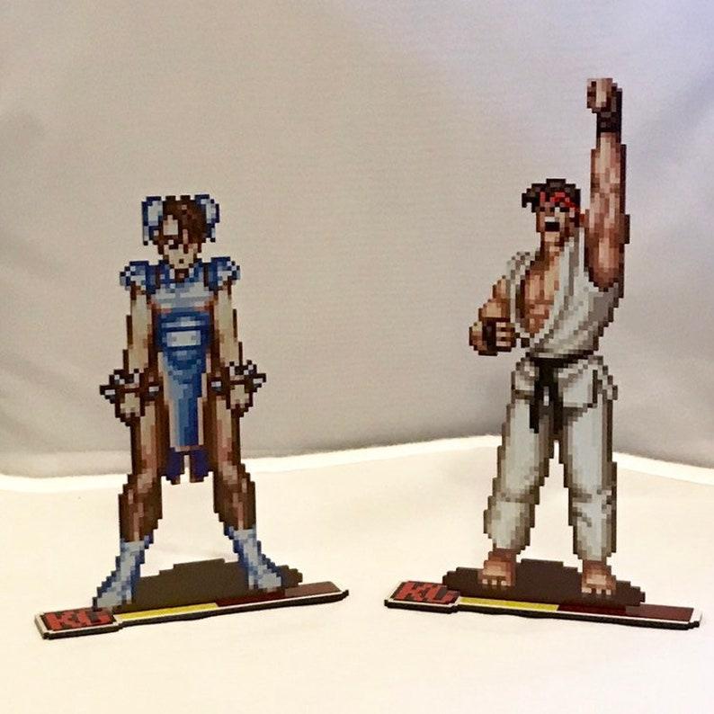 Street Fighter Sprites  Ryu and Chun-Li image 0