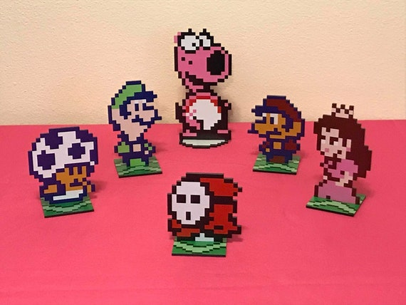 Super Mario Bros 2 Sprites Nintendo Video Game Inspired Etsy