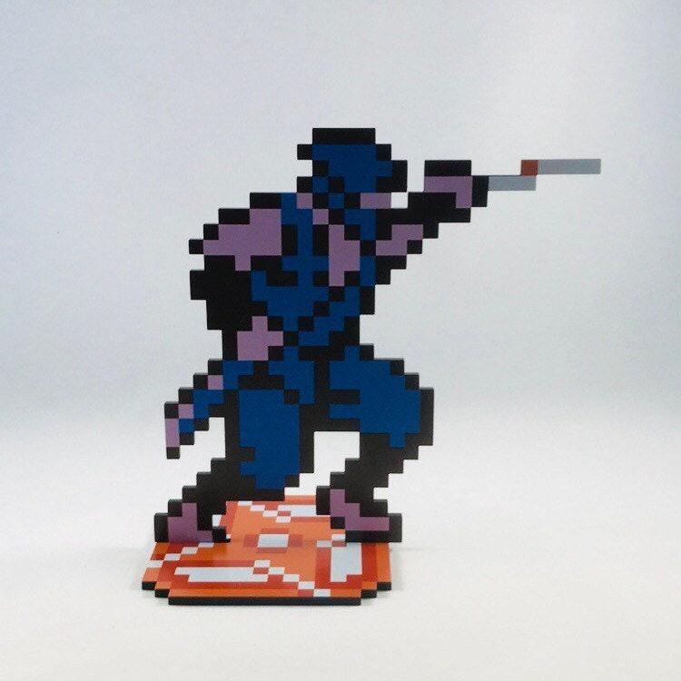 Ninja Gaiden Ryu Hayabusa Sprite Nintendo Video Game