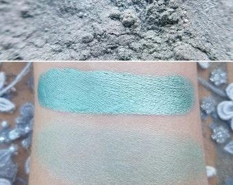 Huntress - Pastel Green, Mineral Eyeshadow, Mineral Makeup, Vegan