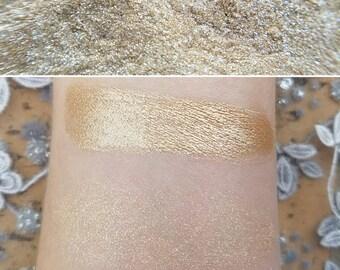 Angel Dust - Gold Shimmer, Mineral Eyeshadow, Mineral Makeup, Highlighter, Vegan