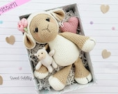 lamb crochet pattern, sheep crochet pattern, crochet lamb, crochet sheep, amigurumi lamb, lamb tutorial