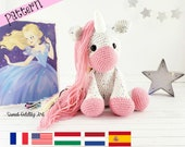 unicorn crochet pattern, crochet unicorn, amigurumi, crochet pattern, unicorn pattern