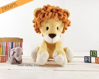 Cuddle Me Lion amigurumi pattern - Amigurumi Today | 270x340