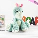 stegosaurus, Crochet pattern, dinosaur crochet pattern, pattern, amigurumi, crochet, crochet dinosaur