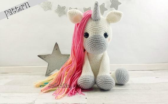Unicorn Crochet Pattern Crochet Unicorn Amigurumi Crochet Etsy Stunning Unicorn Crochet Pattern