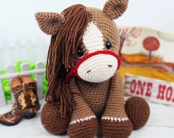 horse crochet pattern, cowgirl crochet pattern, crochet pattern, amigurumi pattern, crochet horse