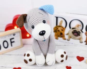 dog crochet pattern, puppy crochet pattern, crochet pattern, crochet dog, crochet puppy