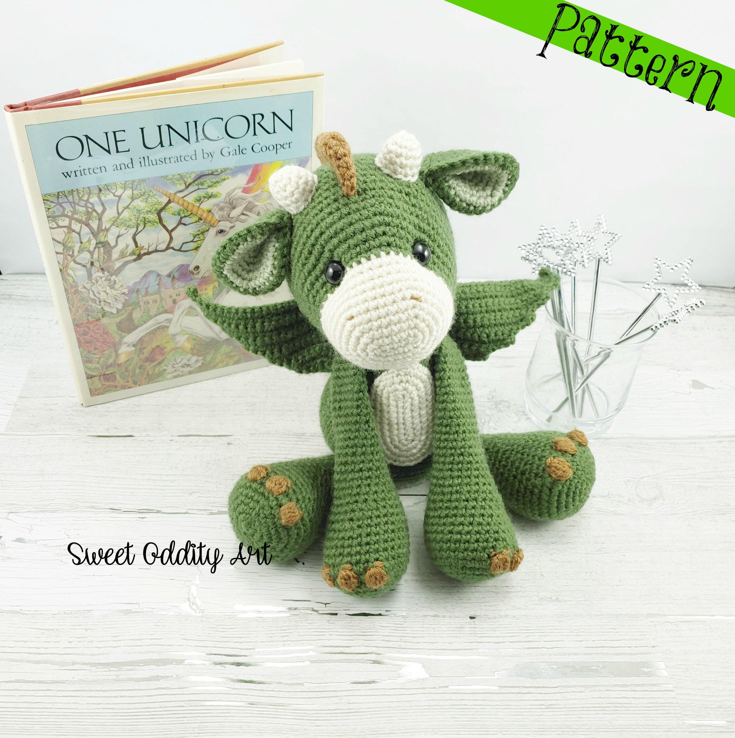 dragon crochet pattern | Etsy - photo#21