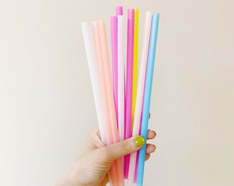 Color Changing Straw, Colorful Straw, Rainbow Colored Straw, Mood Straw, Crazy Straws, Colorful Straws, Random Straws