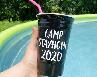 The Name Cup, Personal Name Cup, Personalized Cup, Reusable Plastic Cup, Party Cup, Reusable Name Cup, Custom Gift, Gift Under 15