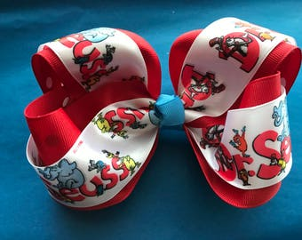 Dr. Seuss Bow