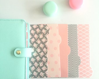 Planner Dividers: Oh So Pretty!