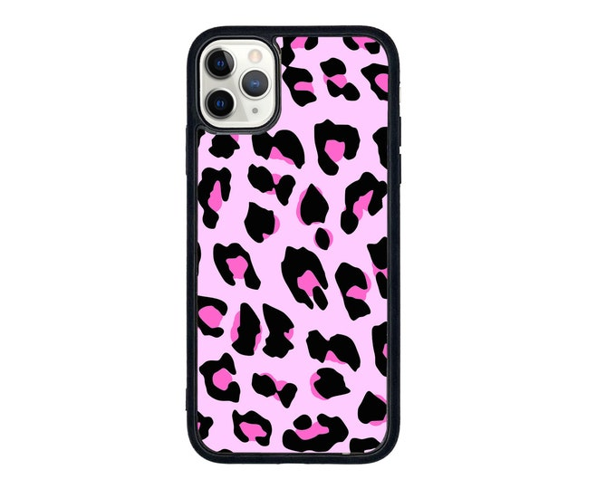 Featured listing image: Cheetah print phone case (more colours available )