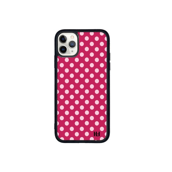 Polka dot phone case (more colours available)