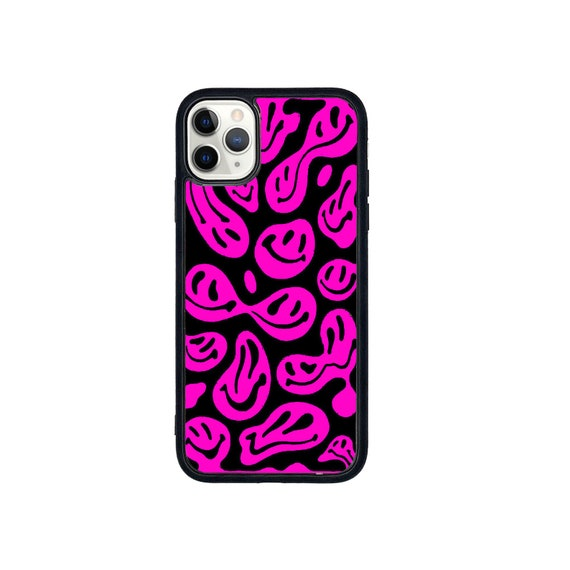 Dripping smiley phone case (more colours available)