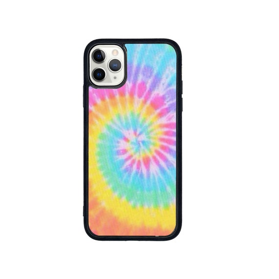 Rainbow Tie dye print phone case