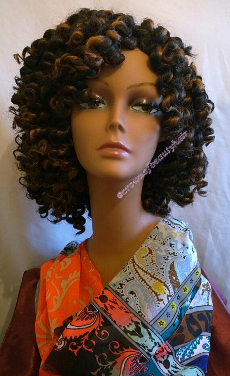Twist Out Synthetic 100 Kanekalon Hair Crochet Secure Etsy