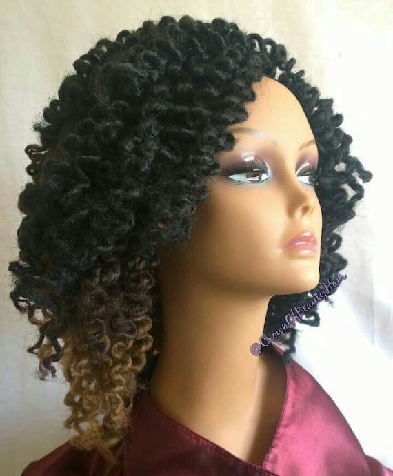 Marley Braids Three Tonedtwist Out Natural Looking Hair Etsy