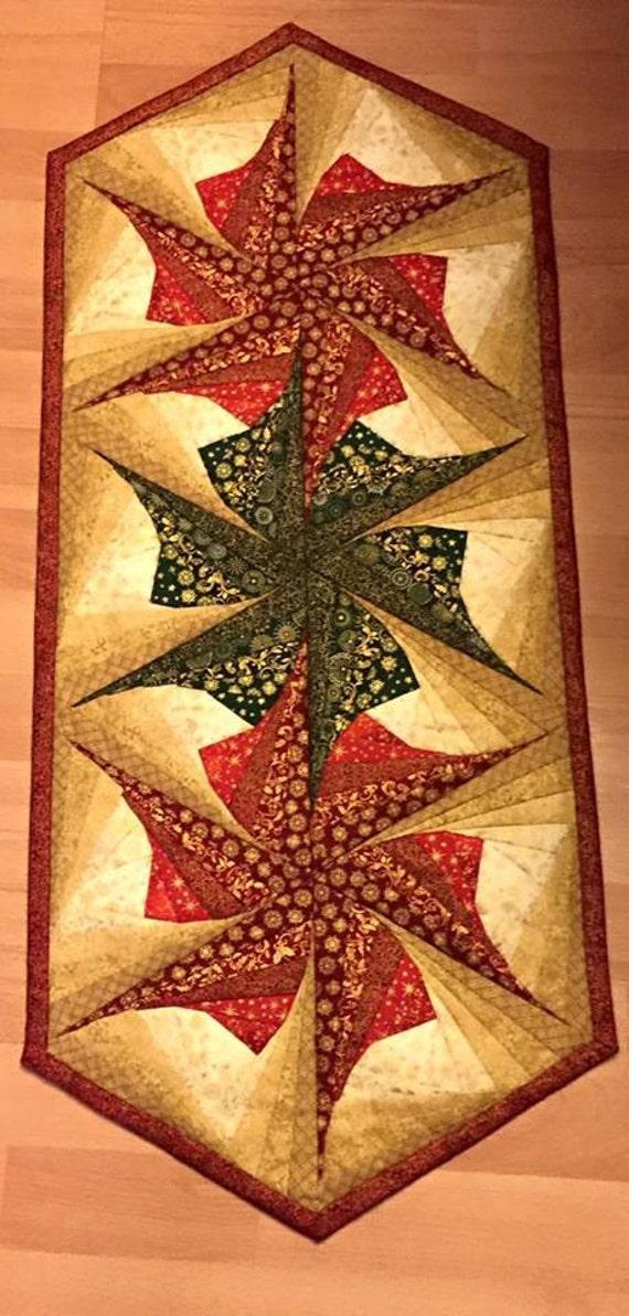 Poinsettia table topper kit