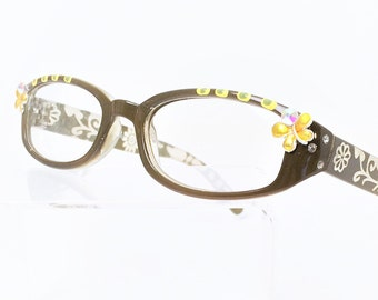 Reading Glasses with Butterfly, Readers +1.25, Women's eyeglasses