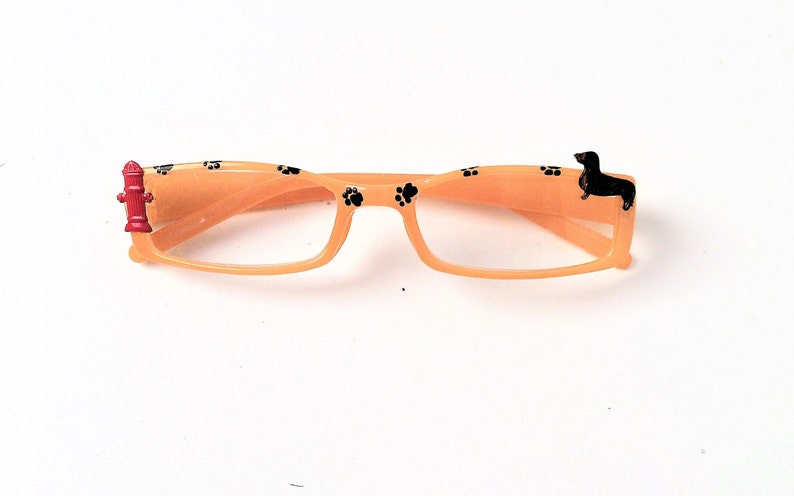 b1a267ec5c7 Reading Glasses with Dachshund dog readers 3.75