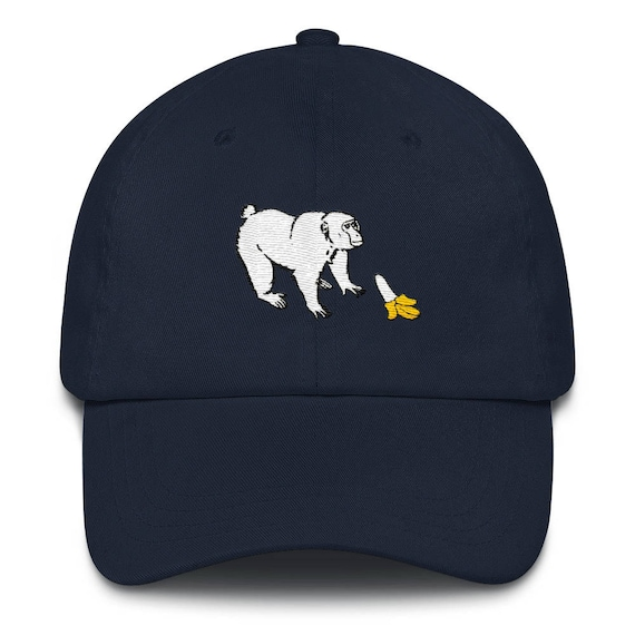 bc39130091f Funny Dad Hat    Monkey Wants a Banana Hat    Banana Hat