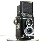 Rolleicord Model IId Compur Rapid Twin Lens Medium Format Camera