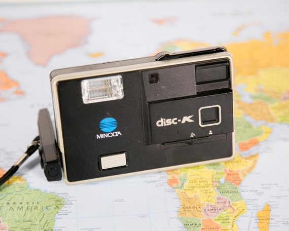 Great Condition #DISC9 Minolta Disc K Disc Film Camera