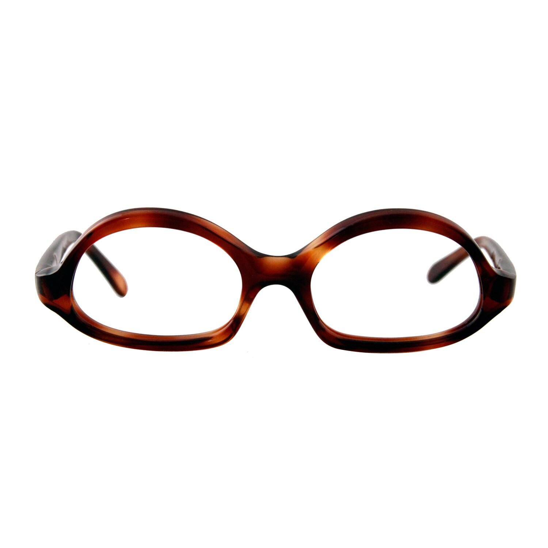 1cf8dea04b1 the lucile ... 1960s brown tortoiseshell eyeglass frames