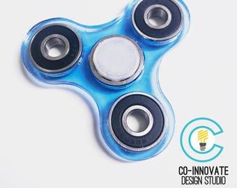 Fidget spinner tri-bar in Acrylic