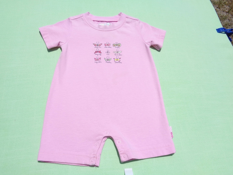 7a4931131 Vintage gymboree baby girls romper size 3-6 months see