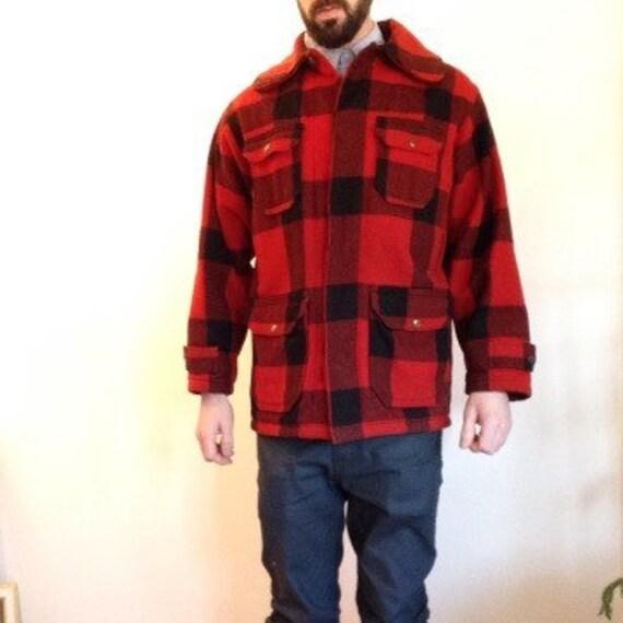 50's Woolrich plaid jacket