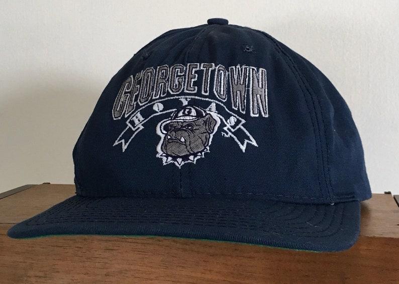 306b9bd50f5 Vintage 90 s Georgetown Hoyas The Game Hat snapback