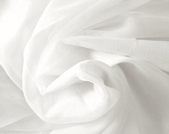"""Sheer Voile,  Fabric 118"""" wide - Sold By The Yard"""