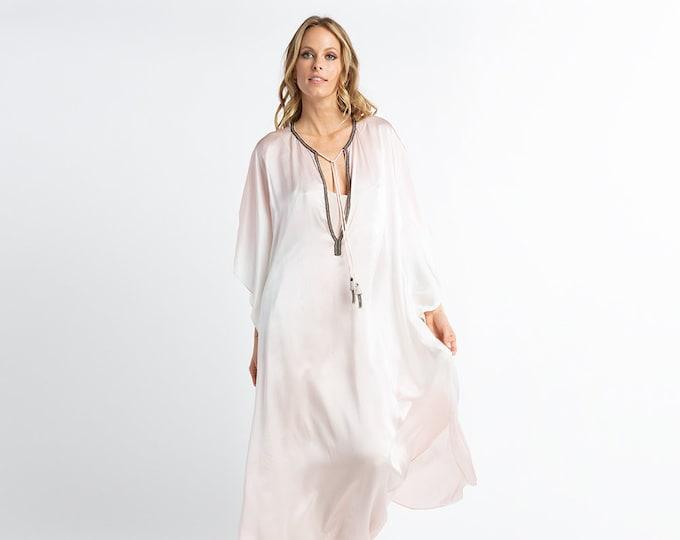 Silk Caftan Dress- Sale-Slight damage