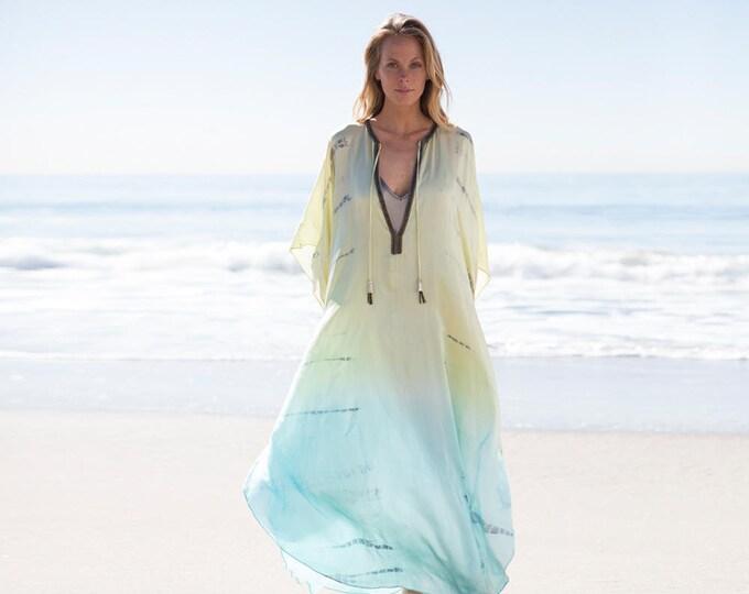 Silk Galabiya Dress