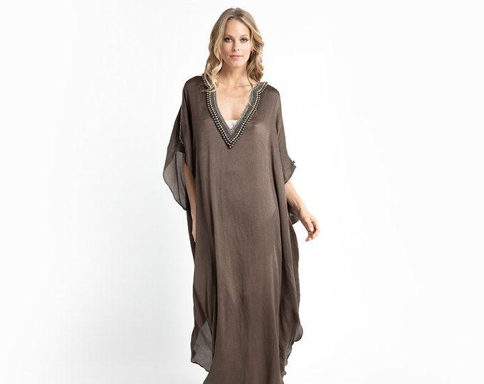 Mother of the bride Silk Evening Dress