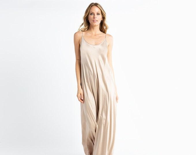 Silk Charmeuse evening dress, bridesmaid dress