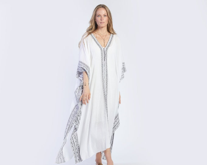NEW COLLECTION embroidered kaftan