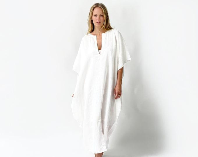 TULUM linen kaftan dress